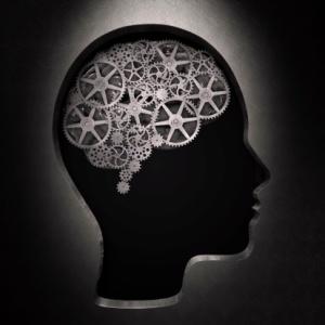 Thought processes, conceptual artwork
